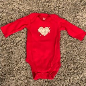 Just One You by Carter's Valentine's onesie